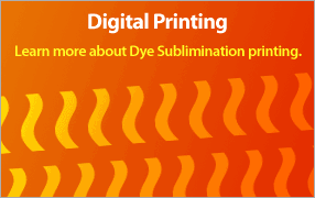 CDG Displays - Dye Sublimation Printing